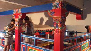 Декорирование в тибетском стиле