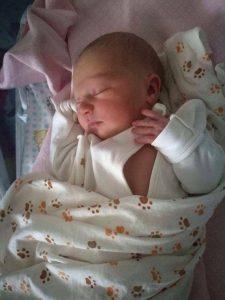 Родилась – Лючия Кьяра Ратти Пистой