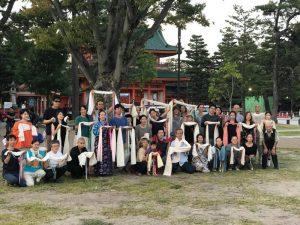 Ретрит японской сангхи Мунселинга в Киото