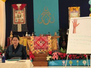 Обучающий курс по тибетскому массажу кунье с доктором Пунцог Вангмо