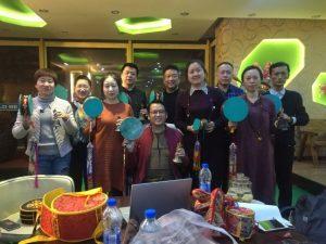 Прошедшие курсы в Самтенгаре, провиция Цзянси и другие события в Китае