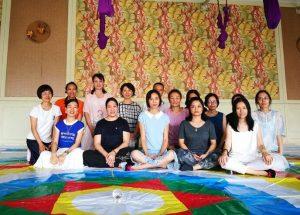 Недавно прошедшие курсы в Самтенгаре, Китай