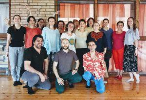 Углубленный курс по 50 танцам Кайта с Адрианой Даль Борго и Салимой Челери в Северном Кунсангаре