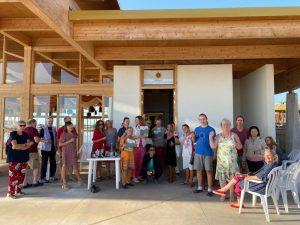 Торжественное открытие нового книжного магазина в конференц-зале Дзамлинг Гара