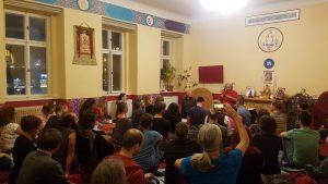 Две публичных лекции в Праге, Чехия