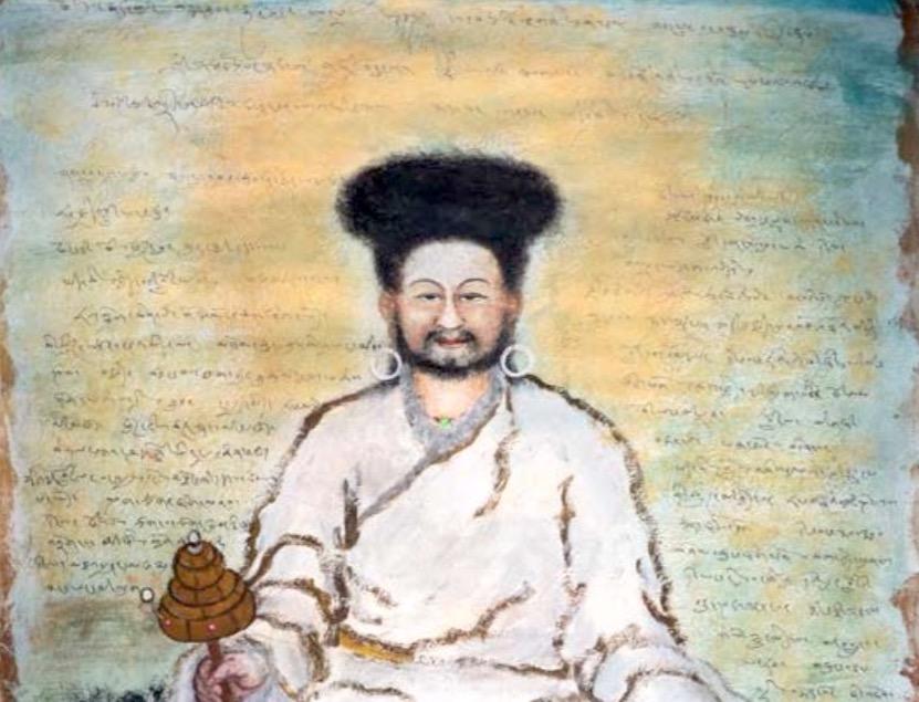Чангчуб Дордже – портрет Другу Чогьяла