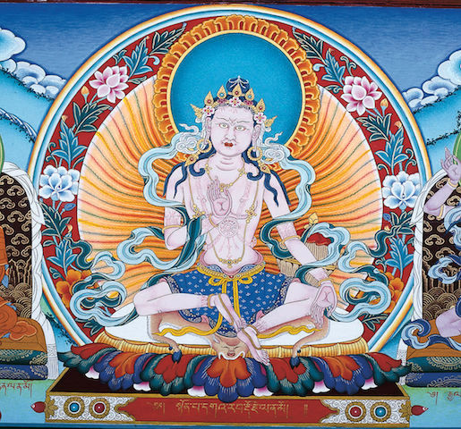 Коллективная практика гуру-йоги в три особых дня