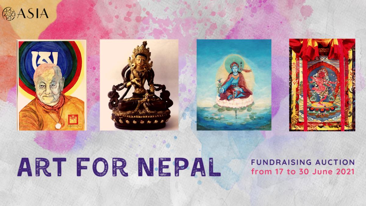 Художники для Непала – особая акция по сбору средств с 17-го по 30 июня