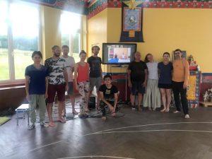 Янтра-йога с Фабио Андрико в Южном Кунсангаре