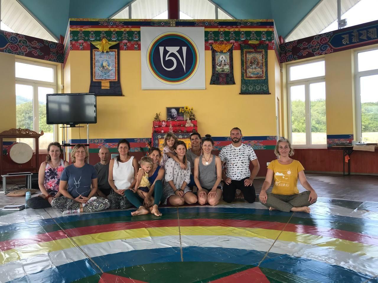 Янтра-йога с Мирой Мироновой в Южном Кунсангаре