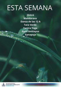 Онлайн-практики из Южного Ташигара 13-19 сентября